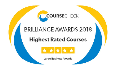 Highest rated training provider for the second year in a row